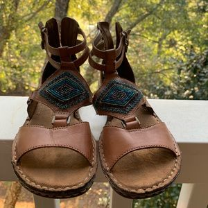 Leather Naturalizer sandals, N5 comfort, size 7.5